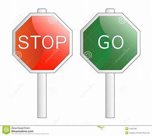Stop And Go : vector illustration stop and go signs royalty free stock photo image 14453785 ~ Medecine-chirurgie-esthetiques.com Avis de Voitures
