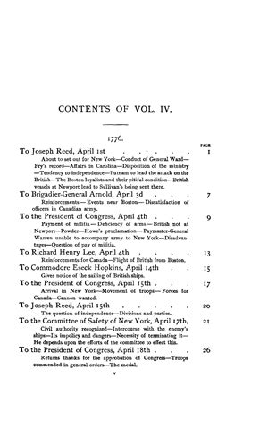 The Writings of George Washington, vol. IV (1776) - Online