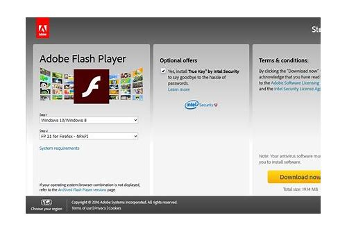 download flash player for chrome windows 8