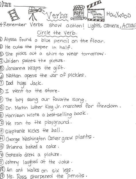 verbs worksheet year  tenses worksheet