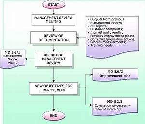 Management Review Flow Chart