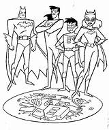 Robin Coloring Pages Superhero sketch template