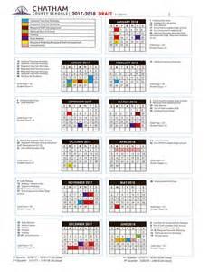 County School Calendar 2017