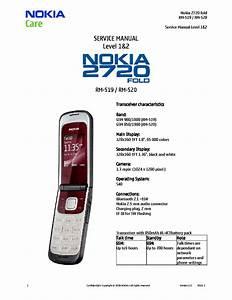 Nokia 2720fold Rm