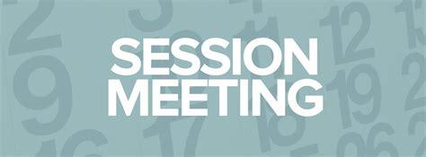 Session Meeting - St. Paul's Presbyterian Church