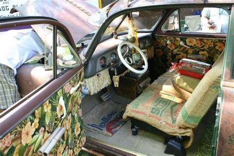 chevy styleline  door rat rod cars interior