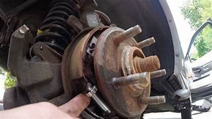 2002-2010 Ford Explorer Parking Brake Adjustment