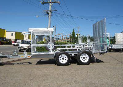 bobcat excavator trailers  sale  brisbane built tough  belco
