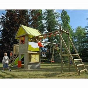 Aire De Jeux Soulet : aire de jeux interactive en bois castorama ~ Melissatoandfro.com Idées de Décoration