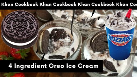 oreo ice cream  home recipe easy oreo ice cream