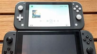 Switch Nintendo Lite Comparison Aux Par Vs