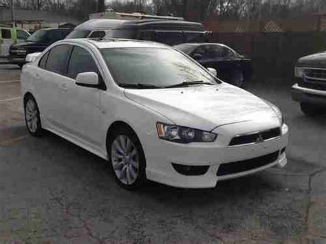 Mitsubishi 4 Door Cars by Sell Used 2008 Mitsubishi Lancer Gts Sedan 4 Door 2 0l In