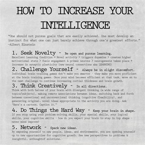 How To Get Smarter Tips To Increase Your Intelligence