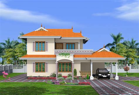 Home Design Exterior Ideas In India by Kerala Home Design Home And House Home Elevation Plans