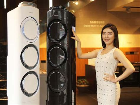 samsung debuts  floor standing aircon units based