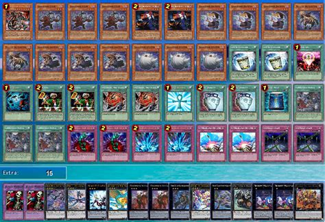 100 overpowered yugioh decks deck list yugioh cards