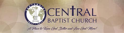 central baptist church crandall tx 505 | church logo