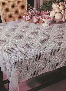 Table Cloth Crochet Pattern Pdf  Tablecloth  Table Cover