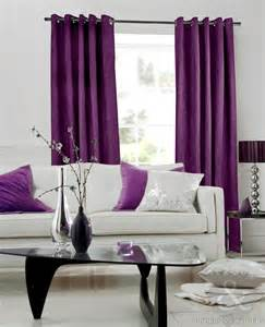 living room design idea present modern dark purple window