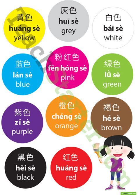 mandarin color colors in mandarin mandarin lote posters teaching