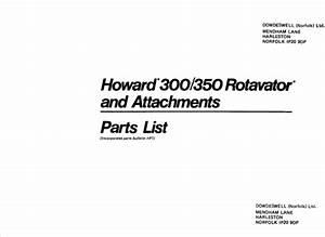 Howard 300 350 352 gearbox flywheel seal  Rotovator Rotavator Howard specialist