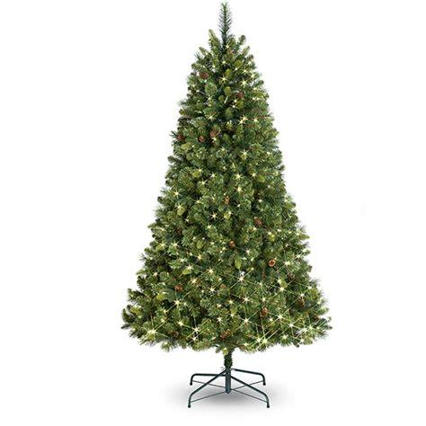 buy pre lit stratton pine artificial christmas tree