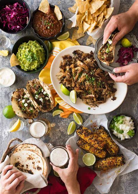 A Big Mexican Fiesta That's Easy To Make  Recipetin Eats