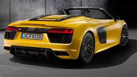 Audi Reveals New R8 Spyder At New York Auto Show Stuffconz