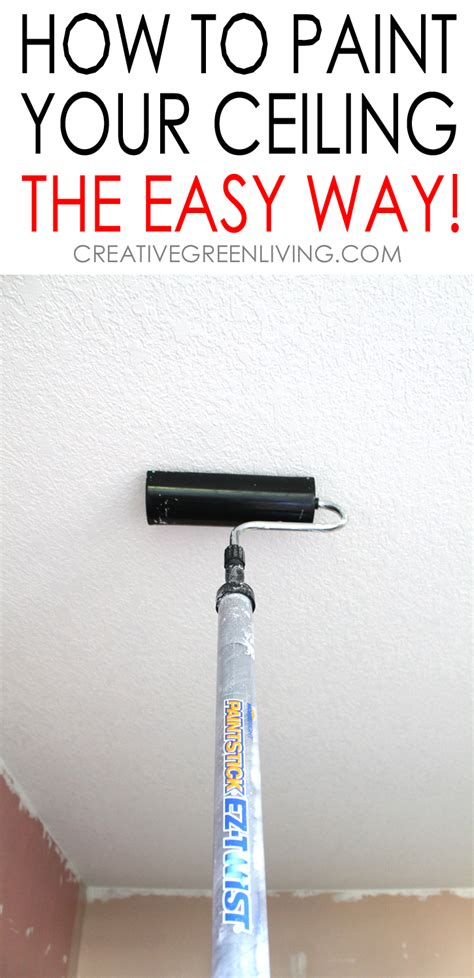 Zimmerdecke Streichen Tipps by How To Paint A Ceiling Tips To Do It The Fastest