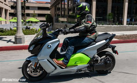 Bmw Electric Motorcycle by Electric Motorcycles Bmw C Evolution Scooter And