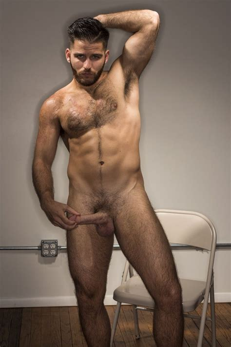 Jackson Grant Hot And Hairy Gay Porn Model