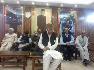 Tunnel not an alternative to political initiative: Dr Farooq