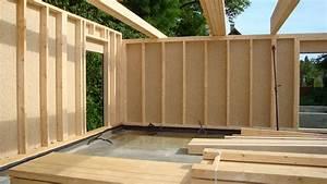 Ossature Bois Maison : montage panneaux maison ossature bois ~ Melissatoandfro.com Idées de Décoration