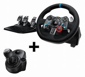 Jeux De Voiture Avec Manette : logitech g29 racing driving force pour ps4 ps3 pc psn ma ~ Maxctalentgroup.com Avis de Voitures