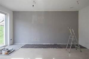 Graue Wand Wohnzimmer : eigenleistungen kw5 ein haus f r den zwerg ~ Indierocktalk.com Haus und Dekorationen
