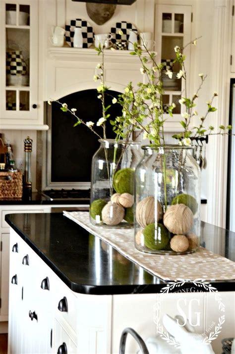 kitchen island centerpiece farmhouse island vignette thanksgiving kitchen