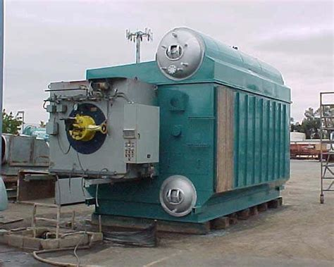Buy And Sell Used Water Tube Package Boilers