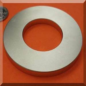 Neodymium Price Chart Large Ring Magnets 6 In Od X 3 In Id X 1 2 In Neodymium