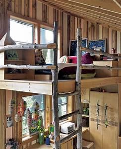Coole Jugendzimmer Mit Hochbett : coole kinderzimmergestaltung und einrichtung in holz mit diy hochbett freshouse ~ Bigdaddyawards.com Haus und Dekorationen