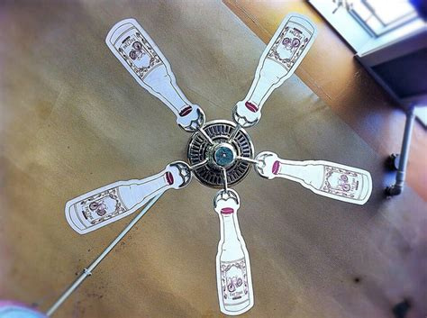 man cave ceiling fans man cave beer ceiling fan the beer room pinterest