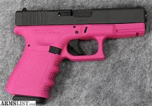 ARMSLIST - For Sale: Glock 19 9mm Cerakoted PINK *NIB*