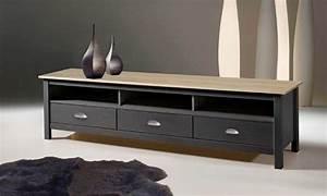 Meuble Tv Bois Gris : meuble tv botello groupon shopping ~ Teatrodelosmanantiales.com Idées de Décoration