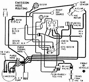 Vacumn Hose Routing Diagram 5 0         H P 1984 Z28