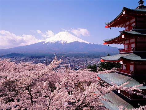 world beautifull places beautiful places fuji japan