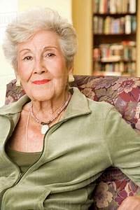 Portrait, Of, An, Elderly, Woman, -, Stock, Photo