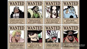 Mihawk One Piece Wanted | www.pixshark.com - Images ...