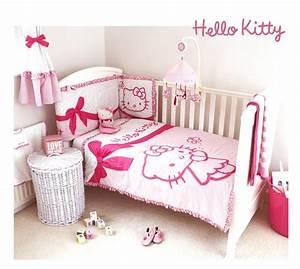 Parure Lit Bebe Fille : parure lit hello kitty ~ Teatrodelosmanantiales.com Idées de Décoration