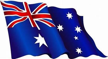 Flag Australian Australia Vector Aussie Clipart American
