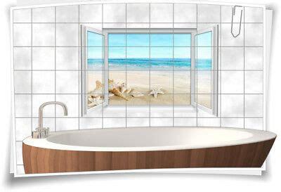 Fliesenaufkleber Fußboden by Fliesenaufkleber Fliesenbild Fliesen Meer Strand Muscheln
