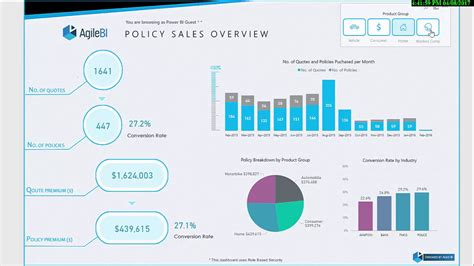 Where can an insurance underwriter earn more? Power BI Showcase - Insurance Brokers Insights - YouTube